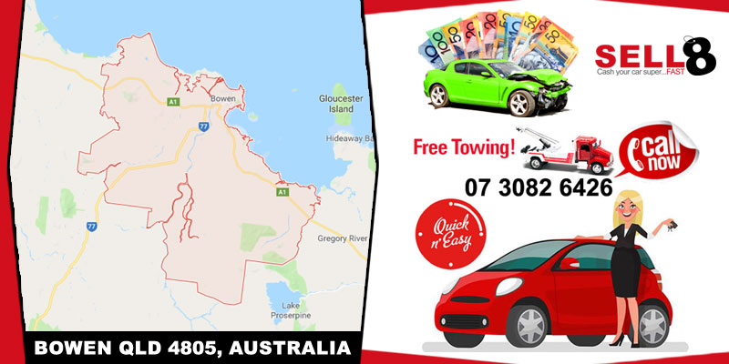 Cash For Cars Bowen QLD 4805