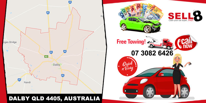 Cash For Cars Dalby QLD 4405