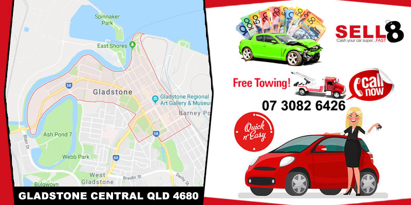 Cash For Cars Gladstone Central QLD 4680