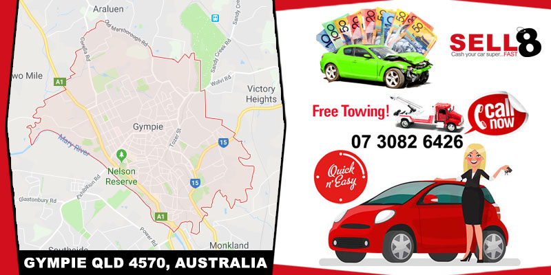Cash For Cars Gympie QLD 4570