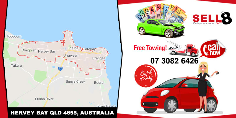 Cash For Cars Hervey Bay QLD 4655