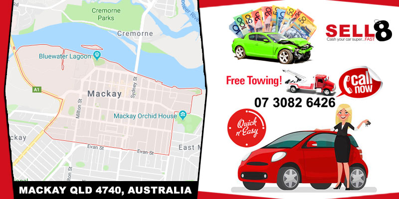 Cash For Cars Mackay QLD 4740