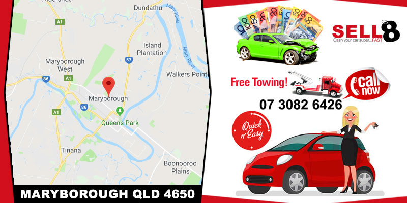 Cash For Cars Maryborough QLD 4650