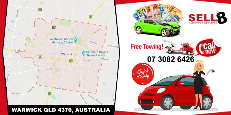 Cash For Cars Warwick QLD 4370