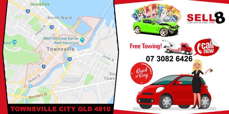 Sell Your Car Townsville City QLD 4810