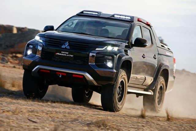 Mitsubishi Triton Absolute concept debuts