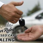 The Golden Rules of Used Car Dealing